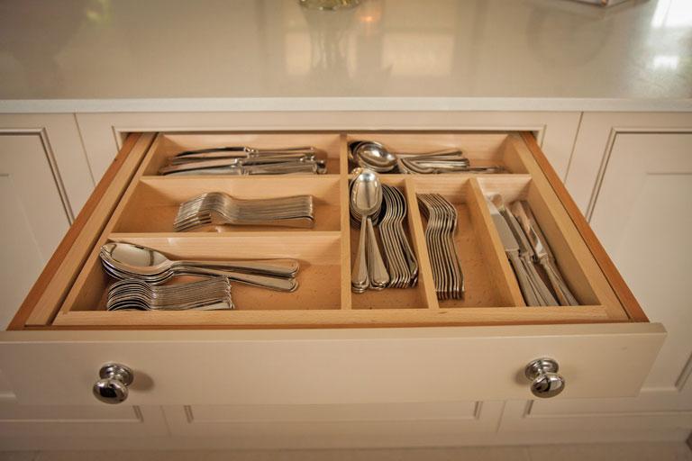 Bespoke Handmade Kitchen Draw